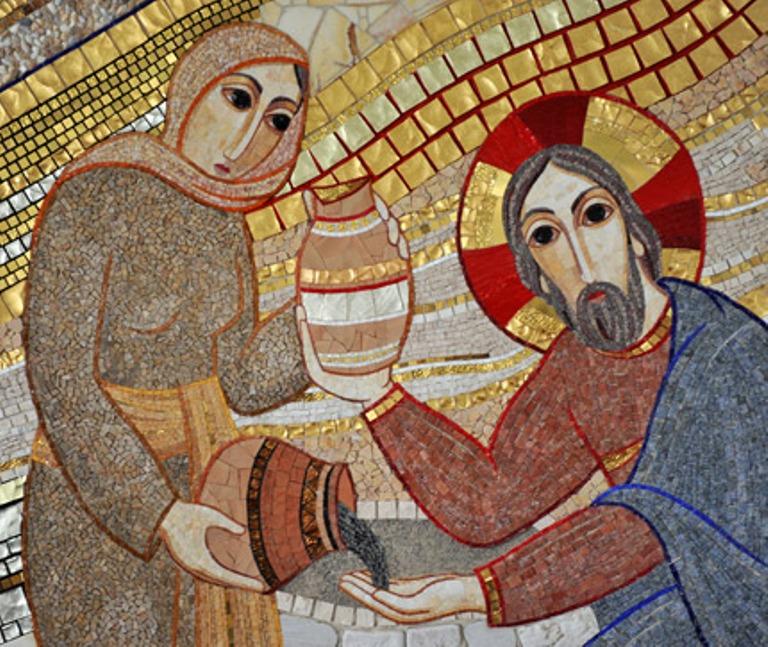 Chrystus+z+samarytanką+Lubljana