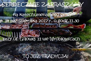 zaproszenie grill 2017